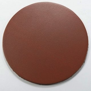 Leather leather pad coaster insulation pad round 9.5 cm 2 90 yuan / month