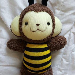 Happiness bleating Handmade Shop - Bee Monkey Doll
