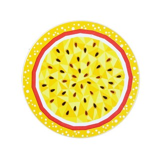 - Xintaiyuan - Taiwan Fruit Season - 6 in 1 Absorbent Coaster to keep the table dry and tidy