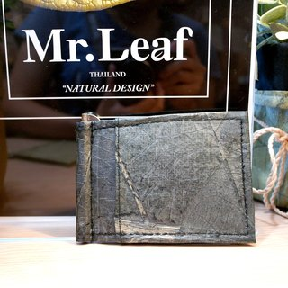 Mr.Leaf-simple texture short clip (stainless steel metal clip)
