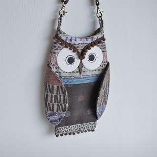 Owl Crossbody Bag No.3