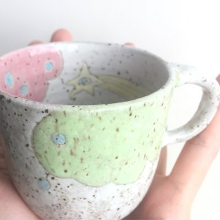 Pottery powder cited Polaris coffee cup / cup