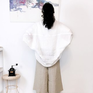 [ blouse 01] flying mouse sleeve blouse two ways