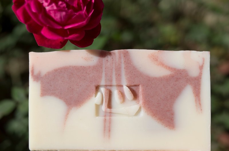 【母乳皂】玫瑰天竺葵母乳皂