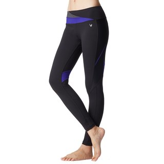 [MACACA] Hip Fixed Rate Heart Free Pants - ATE7521 Black / Royal Blue