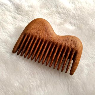 Moment wood - Talwood - camel-type comb (Myanmar teak)