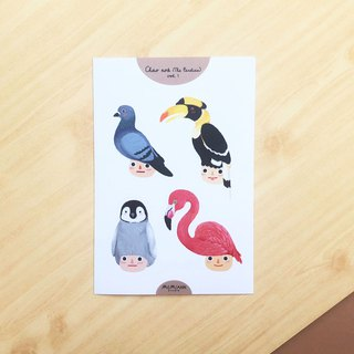 The Birdies Vol.1 | A6 waterproof sticker