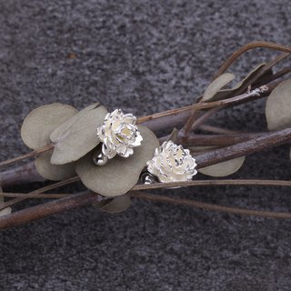 Cherry blossom 925 Sterling Silver Earrings