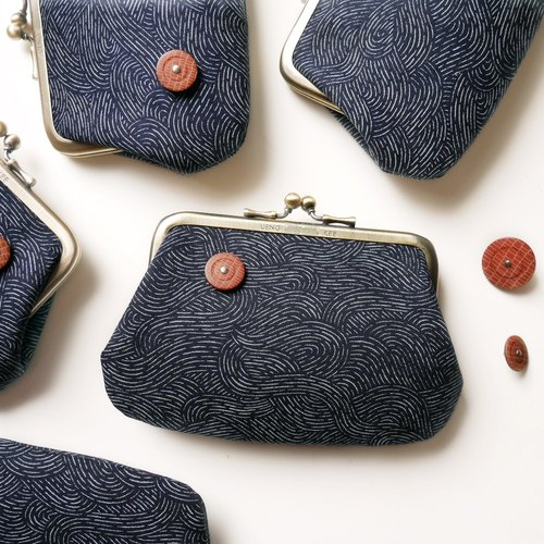 May drift mouth gold buns package / coin purse 【Made in Taiwan】