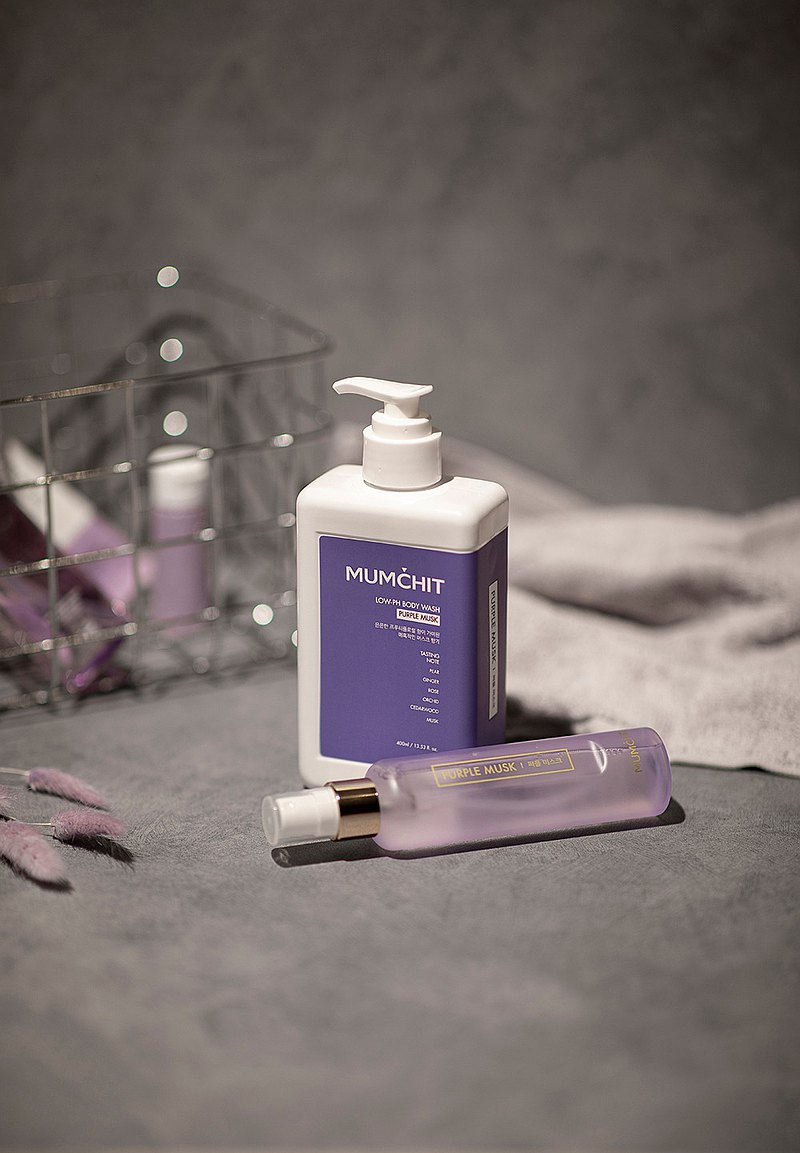 pH 5.5 天然香氛沐浴乳 | 氣質紫麝香 | 400 ml