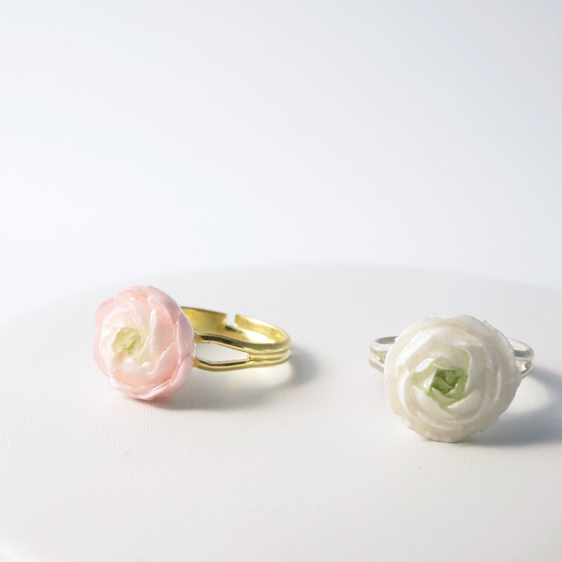 Ranunculus Ring =Flower Piping= Customizable
