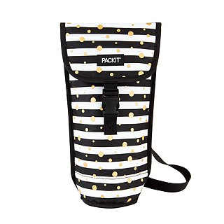 United States [PACKiT] ice cool wine tasting single bottle refrigerated shoulder bag (starlight feast) cold bag