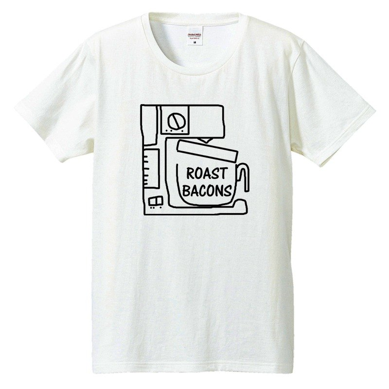 [T-shirt] Roast Bacons coffee maker
