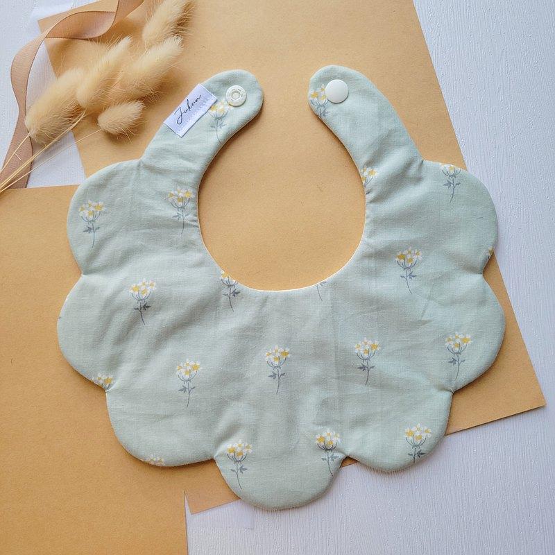 氣質 單面花型圍兜口水巾