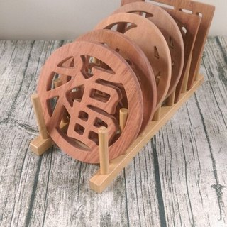[Increase price] wood wood pot rack (need to order a six-piece combination to buy Oh!)