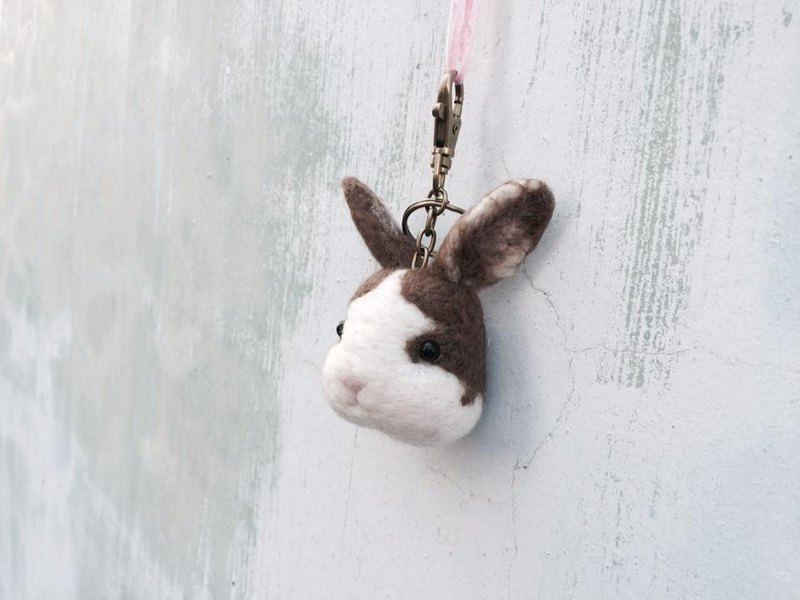 [Music and more sheep wool felt paradise] Brown Bunny custom area