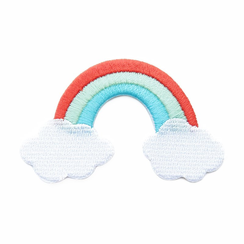 Rainbow - embroidered patch