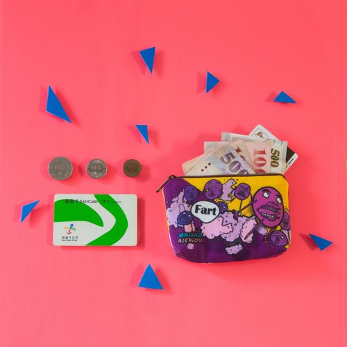 【Coin purse - Grape soda】 Coin purse / MKAC