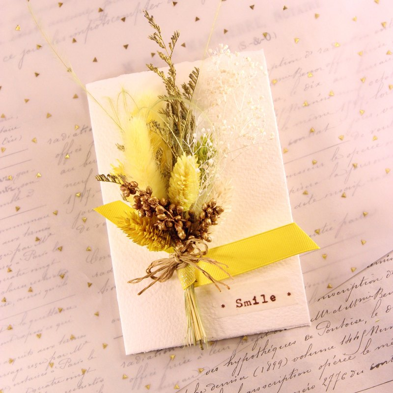 Dried bouquet of dried flowers card │M│ │ │ not withered flower bouquet card │ │ │ graduation gift │ │ blessing