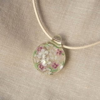 Sweet alicantum Bouquet Pendant Glass Handmade
