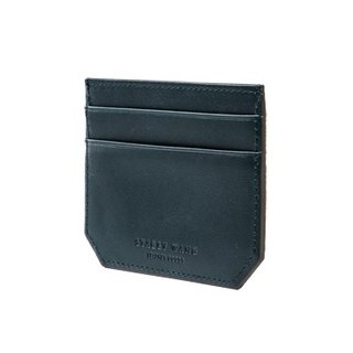 Portable card holder - dark green