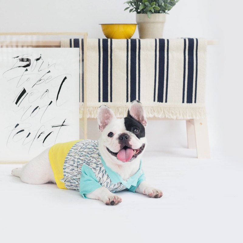 Dog Clothing - Crystal Print Shirt