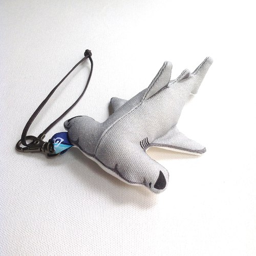 Design No.HS151 - 【Cotton Canvas】Hammerhead Shark Charms