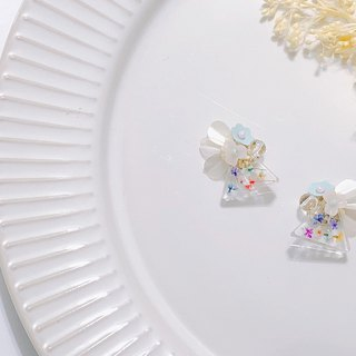 Perfume House Series - Flower Sugar Embossed Sequins Limited Edition Ear Ear/Aurture