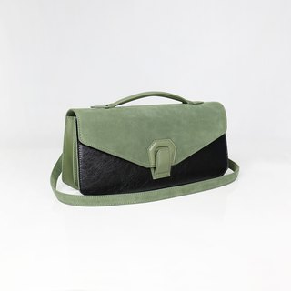 Melodica Two Layer Organ Shoulder Bag - Matcha Green