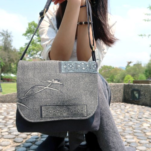 Japanese fabric shoulder bag