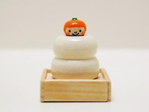 Fly out Kokeshi * rice cake * Mikan-chan * [1]