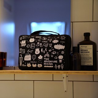 Easy to use storage bag _ black