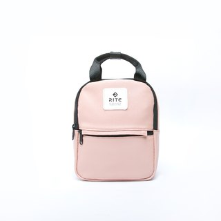 [RITE] Le Tour Series - Dual-use Mini Backpack - Leather Pink