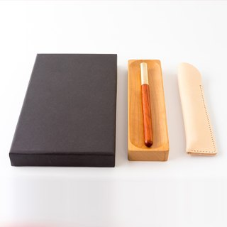 Pens | Brass + Red Rosewood | Pure Handmade Gifts | Gifts | Gifts | Independent Brands | Seventh Heaven