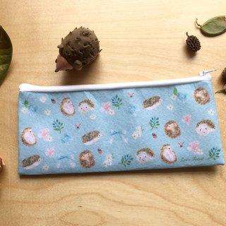Zoe's forest Little Hedgehog Felt Cloth Pencil Christmas gift exchange