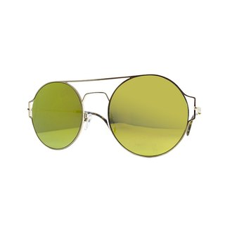 【ZALES】 Sunglasses Mirror Series - Golden The Mirror - Golden Sunglasses