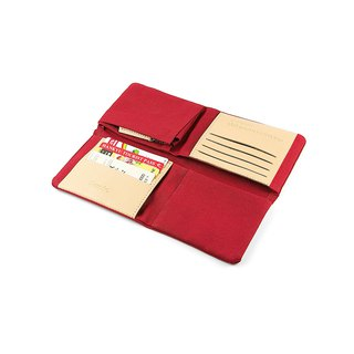 || Field Word Box Cloth || Red