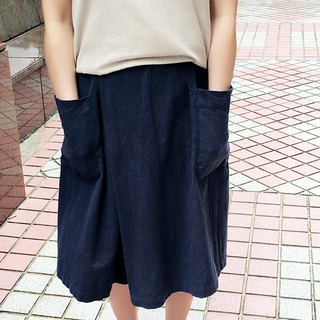 I'm cotton and linen material trousers