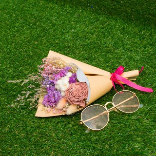 [Purple to the Future] Dry Bouquet // Dry Flower Gift // Tanabata // Purple Pink