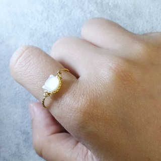 Customized mother's gold-plated / silver-plate ring, please ask ring size when order