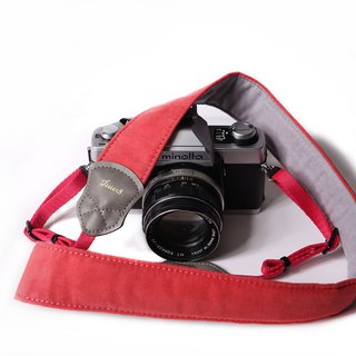 Cherry velvet 4.0 decompression camera strap