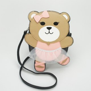 Sleepyville Critters - Ballerina Bear Crossbody Bag