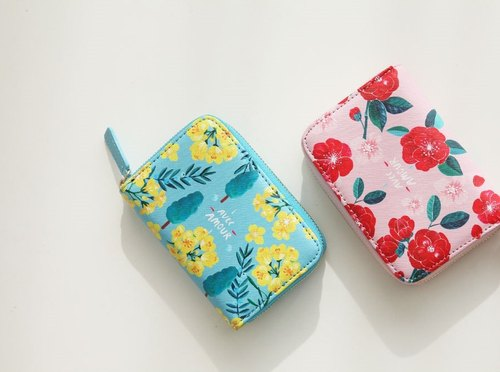With Alice / Accordion card wallet ver.2_Yellow blossom