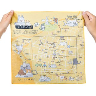 Tainan Go Le - Map of Handkerchief / Mao Kids