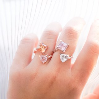 Candy twin ring