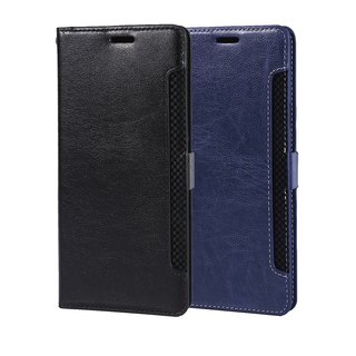 CASE SHOP Samsung Galaxy Note9收納側掀皮套-藍(4716779660241)
