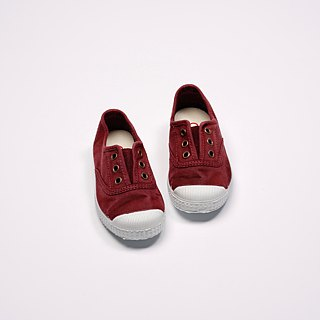 Spanish National Canvas Shoes CIENTA Children's Shoes Size Wash Old Dark Red Scented Shoes 70777 82
