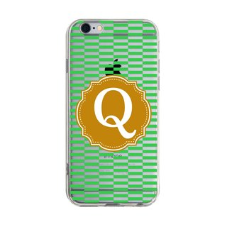 Letter Q Samsung S5 S6 S7 note4 note5 iPhone 5 5s 6 6s 6 plus 7 7 plus ASUS HTC m9 Sony LG G4 G5 v10 phone shell mobile phone sets phone shell phone case
