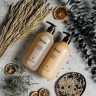 米膚溫和潔淨組 /Rice Extract Gentle Cleansing Shampoo & Body Wash