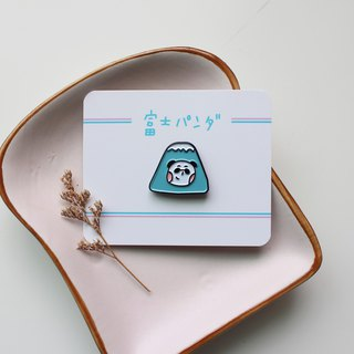 Fuji Panda / Metal Badge